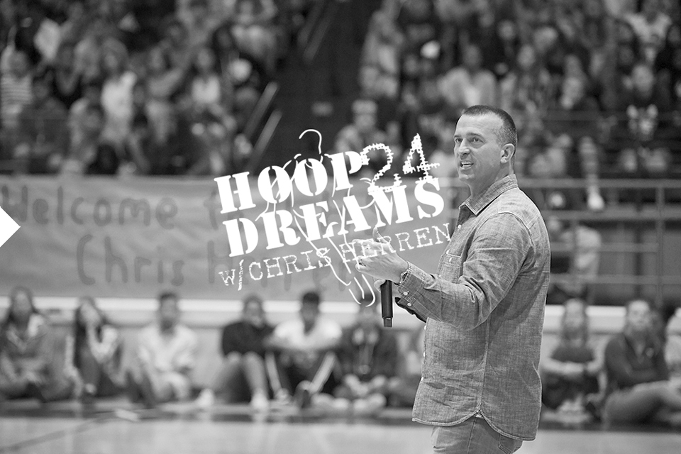 chris herren former nba player and motivational speaker