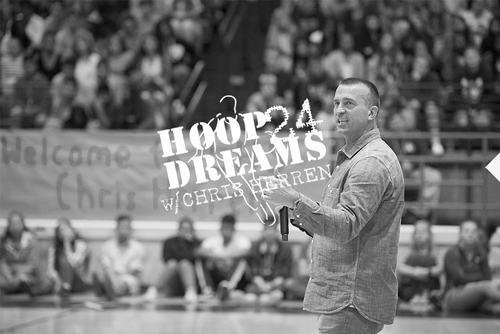 Hoop Dreams chris herren speaker substance use